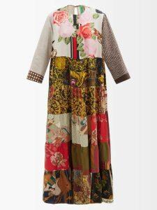 Staud - Cabana High-rise Vegetable-print Linen Skirt - Womens - Ivory Multi