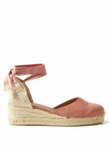 Gioia Bini - Lucinda Macramé Lace Maxi Dress - Womens - Yellow