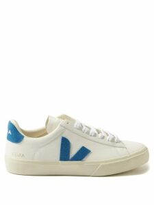 Ganni - Gingham Wrap Around Crepe Top - Womens - Black White