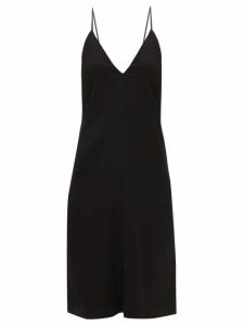 Albus Lumen - Aziza Cotton Gauze Hooded Dress - Womens - Red