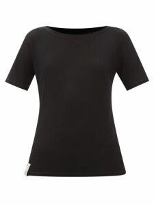 Staud - Ruffle Trimmed Bodice Linen Blend Mini Dress - Womens - Red