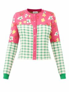 Nili Lotan - Shon Curved Leg Stretch Cotton Jeans - Womens - Black