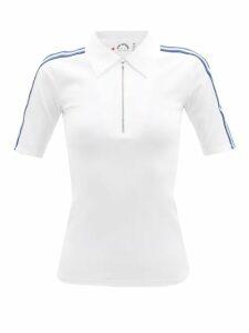 Etro - Paisley-print Cotton Shirtdress - Womens - Blue