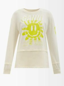 Christopher Kane - Faux Pearl Embellish Tailored Wool Trousers - Womens - Navy