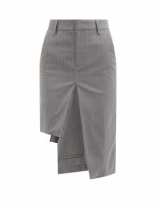 Kassl Editions - Single Breasted Rubber Trench Coat - Womens - Brown