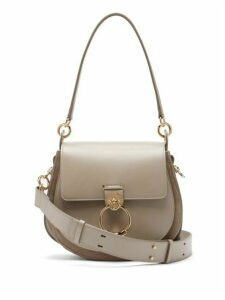 Chloé - Tess Small Leather Cross Body Bag - Womens - Grey