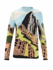 Reinhard Plank Hats - Star Straw Bucket Hat - Womens - White