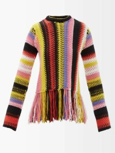 Dolce & Gabbana - Geranium-print Cotton-poplin Skirt - Womens - Red Multi