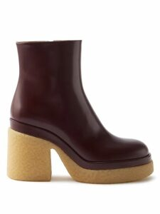 Alexander Mcqueen - Rose Print Silk Crepe De Chine Blouse - Womens - Blue Multi
