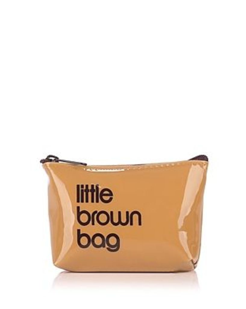 Bloomingdale's Little Brown Key Pouch - 100% Exclusive