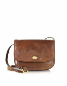 The Bridge Designer Handbags, Story Donna Marrone Leather Crossbody Bag