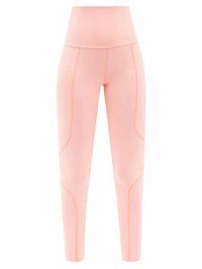 Redvalentino - Lurex Check Knitted Polo Shirt - Womens - Navy Multi