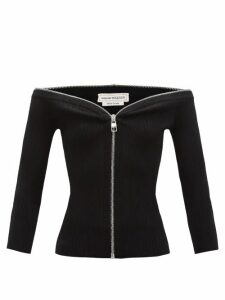 Chloé - Logo Embroidered Cotton Blend Blouse - Womens - Ivory