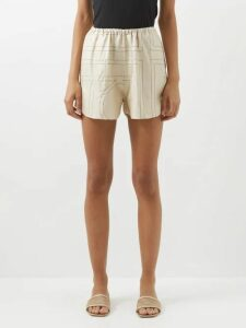 Atm - Wide Rib Tank Top - Womens - Grey