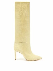 Valentino - Rockstud Wraparound Leather Espadrilles - Womens - Nude