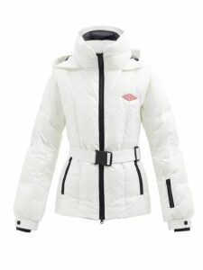 Dolce & Gabbana - Geranium Print Ruffle Trimmed Silk Dress - Womens - Red Multi