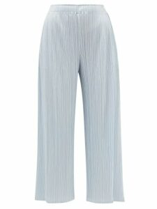 Marni - Topstitched Patch Pocket Cotton Poplin Shirt - Womens - Navy
