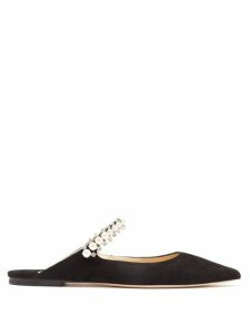 Alexander Mcqueen - Crystal Embellished Belted Gown - Womens - Black