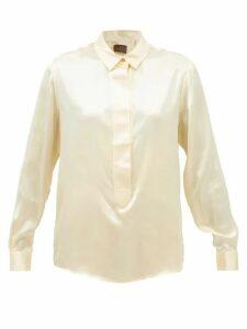 The Attico - Off The Shoulder Sequinned Mini Dress - Womens - Black