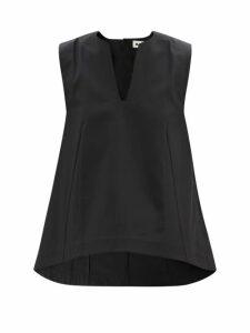 Haider Ackermann - Longline Cotton Oxford Coat - Womens - Khaki