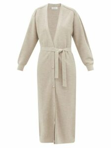 Redvalentino - Floral Print Silk Crepe De Chine Dress - Womens - White Multi