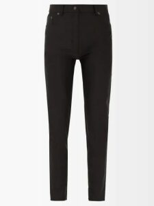 Zimmermann - Goldie Ruffled Floral Print Linen Shorts - Womens - Pale Yellow