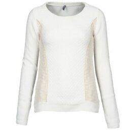 Naf Naf  MIBI  women's Sweater in White