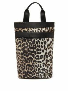Muzungu Sisters - Frangipani Poppy Print Silk Faille Maxi Dress - Womens - Black Multi