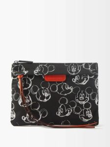 La Doublej - Shortcake Puffed Sleeve Floral Print Silk Blouse - Womens - Green Multi