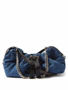 Erdem - Senna Floral Embroidered Belted Gown - Womens - White Print