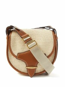 Altuzarra - Annie Single-breasted Prince Of Wales-check Coat - Womens - Grey Multi
