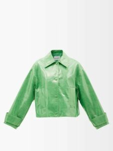 Sophia Webster - Rosalind Crystal Embellished Leather Sandals - Womens - Rose Gold