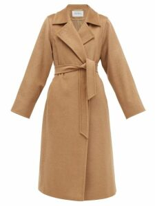 On The Island By Marios Schwab - Balos Floral Print Cotton Voile Shirtdress - Womens - Yellow