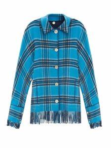 Missoni Mare - Stripe Lace Trim Knitted Kaftan - Womens - Multi