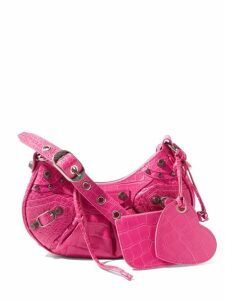 Chloé - Pleated-front Wool-blend Twill Tailored Trousers - Womens - Grey