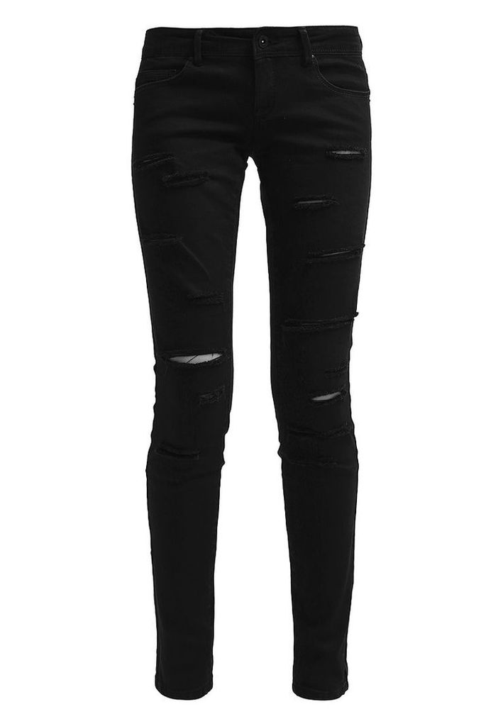 ONLY ONLCORAL Slim fit jeans black
