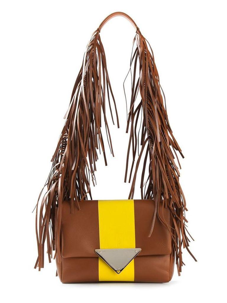 Sara Battaglia 'Stripe Teresa' shoulder bag