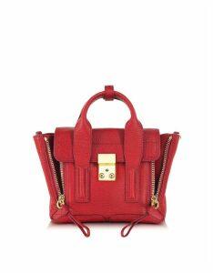 3.1 Phillip Lim Designer Handbags, Red Pashli Mini Satchel