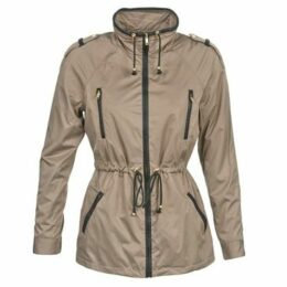 Naf Naf  BELINI  women's Parka in Brown