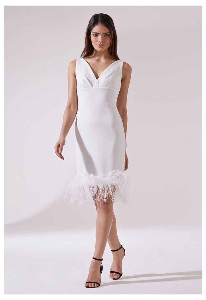 The LBD Audrey Dress in White