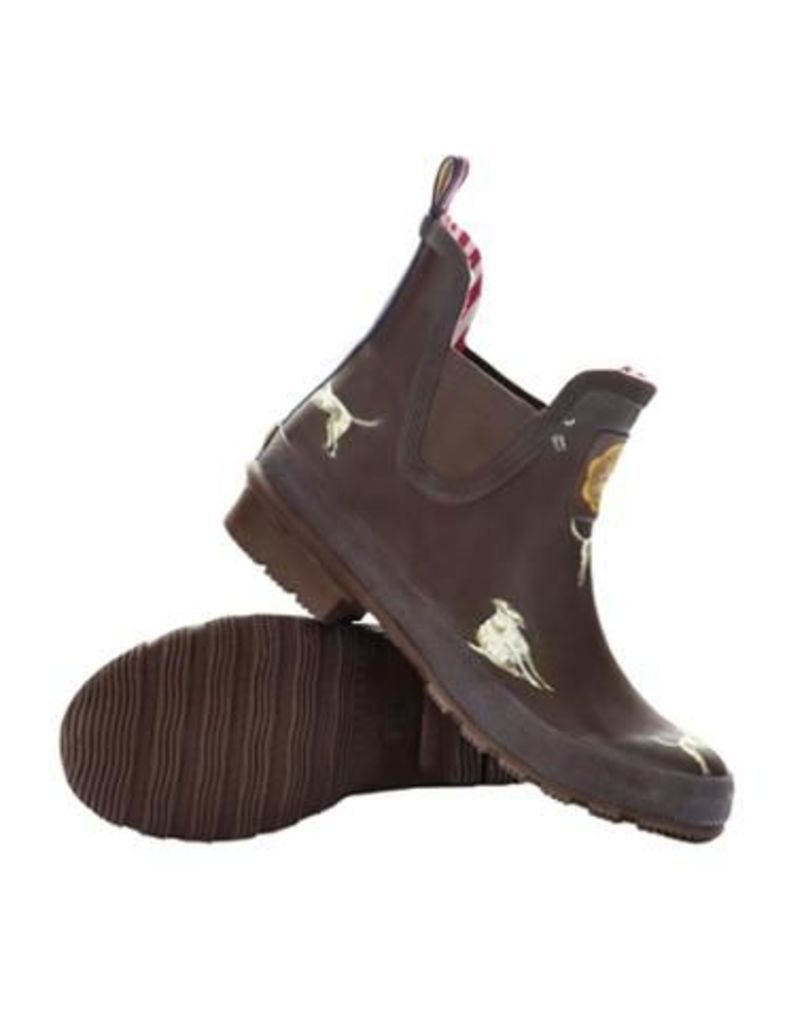 Joules Wellibob Womens Wellibobs - Brown Dog