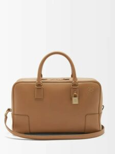 Rochas - Broderie Anglaise Cotton Dress - Womens - Brown