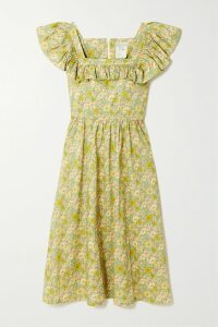 Sies Marjan - Greer Ruched Pinstriped Satin Blazer - Claret