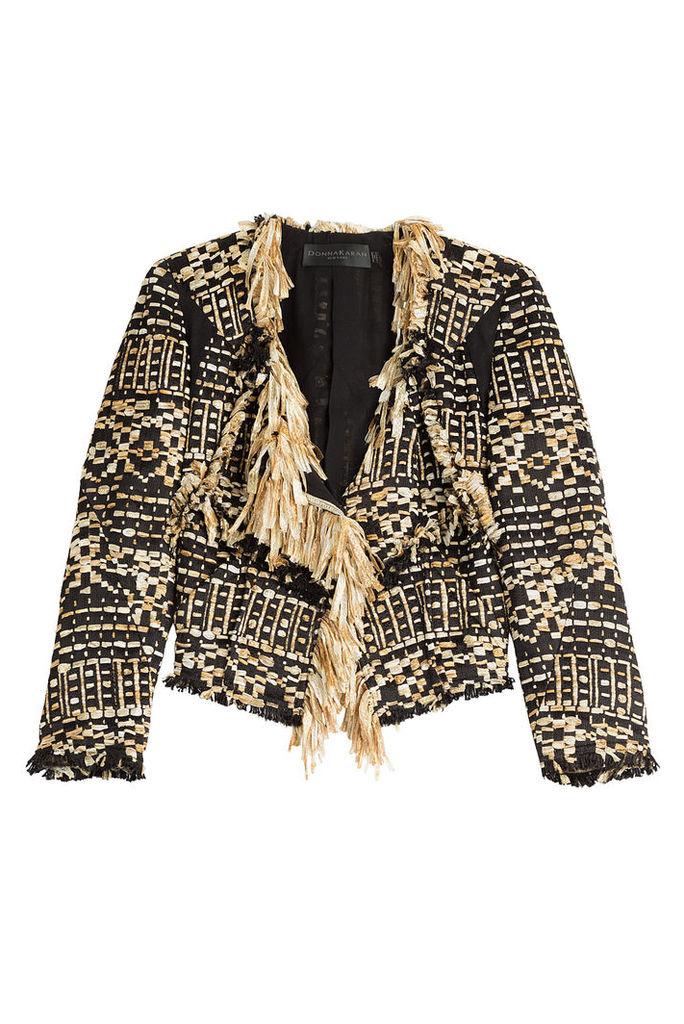 Donna Karan Tweed Jacket