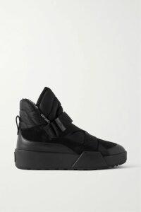 Fendi - Cable-knit Silk Turtleneck Sweater - Orange