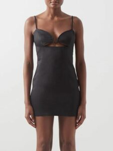 Prada - Key Print Wool Twill Trousers - Womens - Navy White