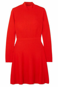 Givenchy - Two-tone Cady Mini Dress - Red