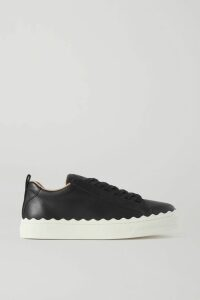 Tory Burch - Gloria Embellished Guipure Lace And Linen Skirt - White