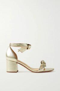 ALEXACHUNG - Embellished Satin Dress - Mint