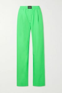 Stella McCartney - Double-breasted Wool-tweed Blazer - Navy